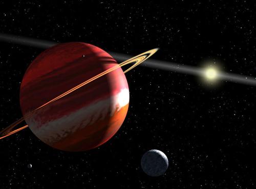 解析行星与下降点的合相